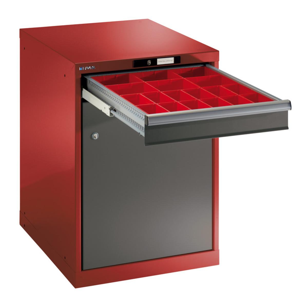 Lista Schubladenschrank, 27x36E, 1 Schublade - Höhe: 100 mm und 1 ...