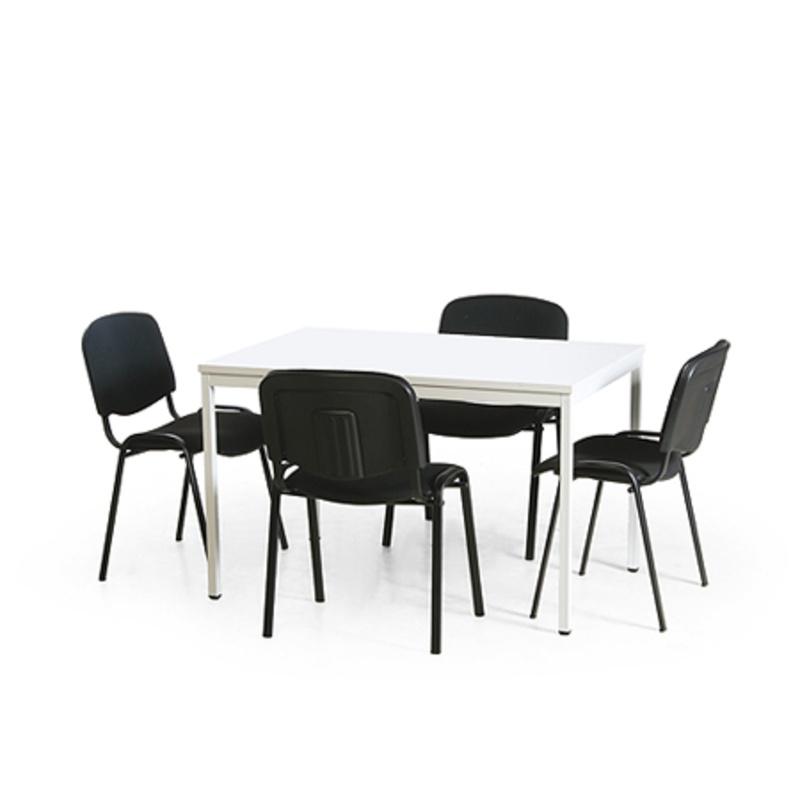 konferenz tisch stuhl kombination 1 eckiger tisch. Black Bedroom Furniture Sets. Home Design Ideas